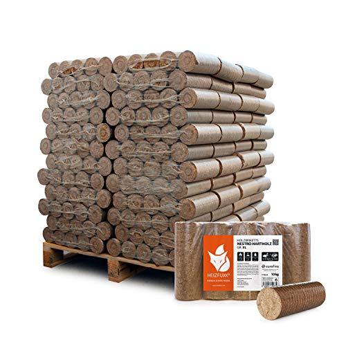 Holzbriketts Hartholz Nestro XL 10kg x 96 Gebinde