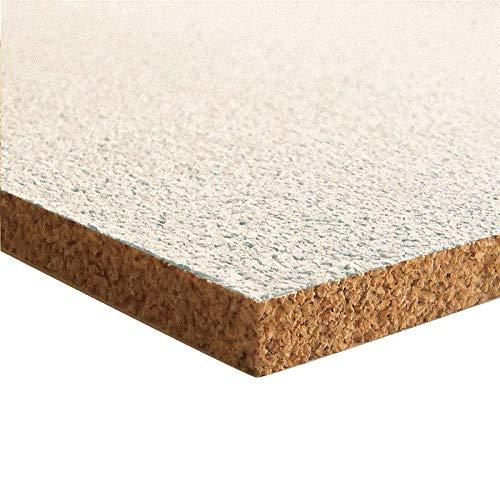 Pinnwand Korkplatte - 915 x 610 x 10 mm (Polarweiß)