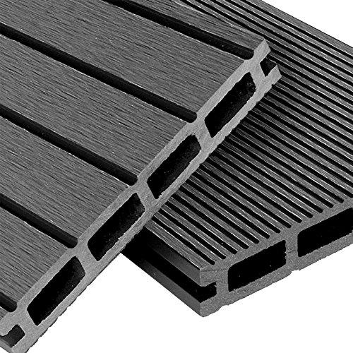 WPC Terrassendielen Basic Line - Komplett-Set 12m²