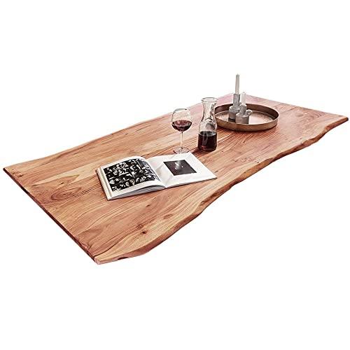 Massive Tischplatte 120x80 cm, Akazie massiv