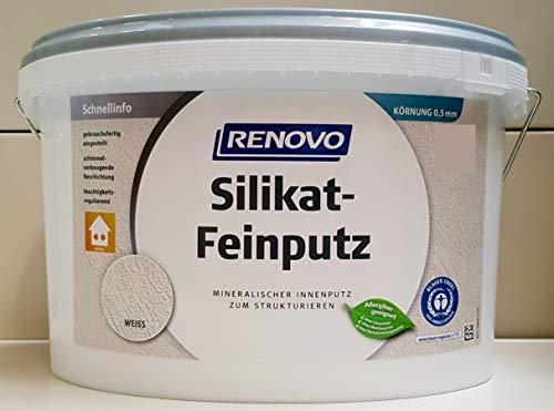 Silikat Feinputz 0,5mm-Korn