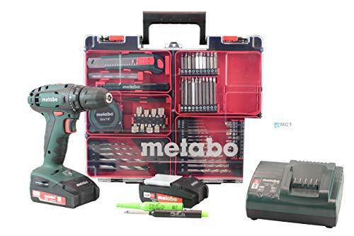 Metabo Mobile Akkuschrauber Set mit Zubehör